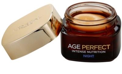 L'Oréal Paris Age Perfect creme de noite regenerador e revitalizante para pele madura 1