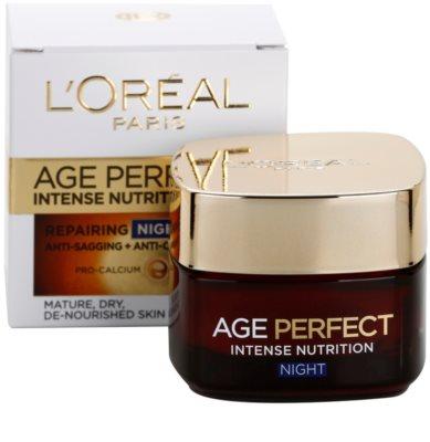 L'Oréal Paris Age Perfect creme de noite regenerador e revitalizante para pele madura 2