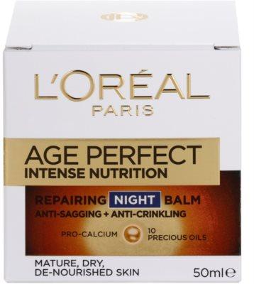 L'Oréal Paris Age Perfect creme de noite regenerador e revitalizante para pele madura 4