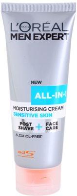 L'Oréal Paris Men Expert All-in-1 crema hidratante para pieles sensibles