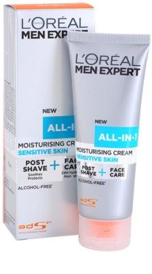 L'Oréal Paris Men Expert All-in-1 creme hidratante para pele sensível 1