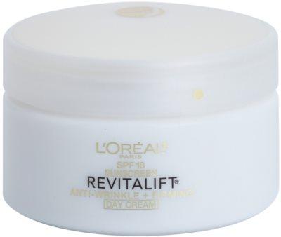 L'Oréal Paris Revitalift Anti-Wrinkle + Firming crema de zi anti-rid SPF 18