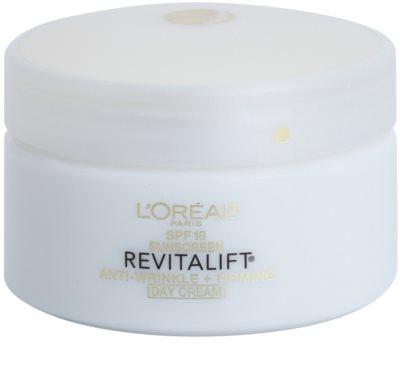 L'Oréal Paris Revitalift Anti-Wrinkle + Firming denní krém proti vráskám SPF 18