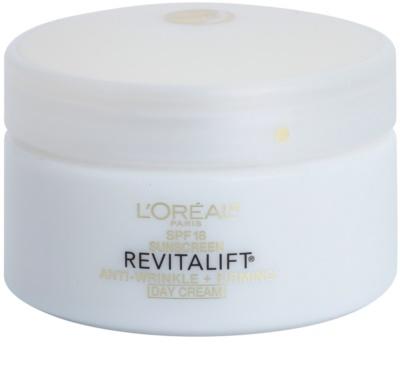 L'Oréal Paris Revitalift Anti-Wrinkle + Firming denný krém proti vráskam SPF 18