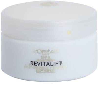 L'Oréal Paris Revitalift Anti-Wrinkle + Firming nappali krém a ráncok ellen SPF 18