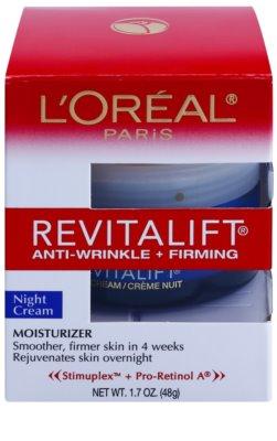 L'Oréal Paris Revitalift Anti-Wrinkle + Firming Nachtcreme gegen Falten 2