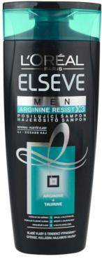 L'Oréal Paris Elseve Arginine Resist X3 champô reforçador para homens