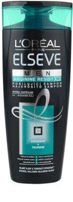 L'Oréal Paris Elseve Arginine Resist X3 зміцнюючий шампунь для чоловіків