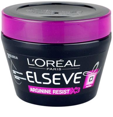 L'Oréal Paris Elseve Arginine Resist X3 masca fortifianta