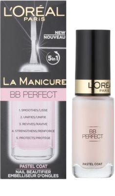 L'Oréal Paris La Manicure BB Perfect kondicionér na nehty 5 v 1 1