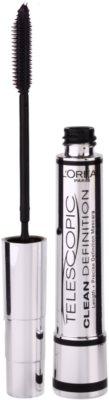 L'Oréal Paris Telescopic Clean Definition туш для збільшення об'єму