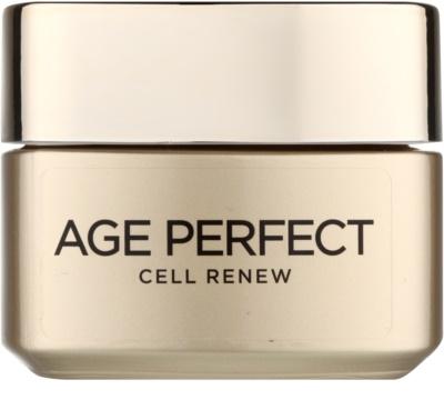 L'Oréal Paris Age Perfect Cell Renew Tagescreme für die Erneuerung der Hautzellen