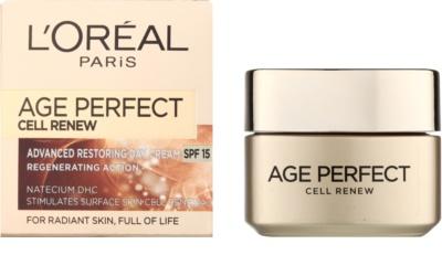 L'Oréal Paris Age Perfect Cell Renew dnevna krema za obnovo kožnih celic 1