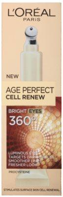 L'Oréal Paris Age Perfect Cell Renew Augenpflege gegen Falten, Schwellungen und Augenringe 2