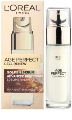 L'Oréal Paris Age Perfect Cell Renew Serum für reife Haut 1