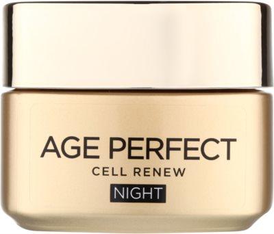 L'Oréal Paris Age Perfect Cell Renew crema de noche para renovación celular de la piel