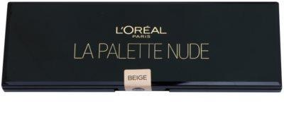L'Oréal Paris Color Riche paleta de sombras de ojos con espejo y aplicador 1