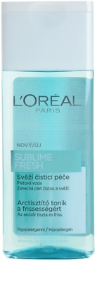 L'Oréal Paris Triple Active bőrtisztító víz normál és kombinált bőrre