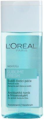 L'Oréal Paris Triple Active Gesichtswasser für normale Haut und Mischhaut