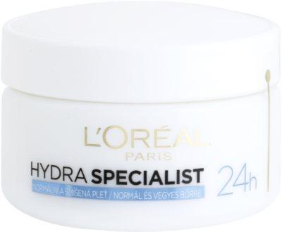 L'Oréal Paris Triple Active crema de día hidratante  para pieles normales y mixtas