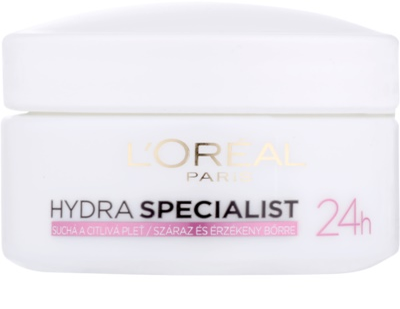 L'Oréal Paris Triple Active crema de zi hidratanta pentru ten uscat si sensibil