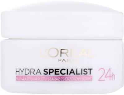 L'Oréal Paris Triple Active Feuchtigkeitsspendende Tagescreme für empfindliche und trockene Haut