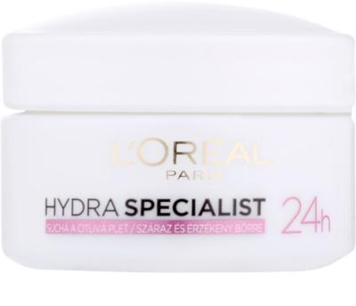 L'Oréal Paris Triple Active зволожуючий денний крем для чутливої сухої шкіри
