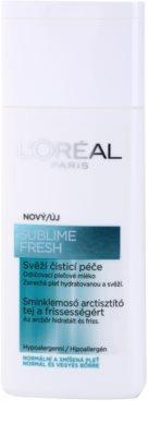 L'Oréal Paris Triple Active Hautreinigungsmilch für normale Haut und Mischhaut