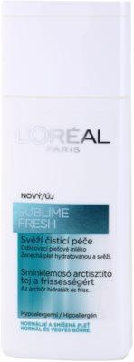 L'Oréal Paris Triple Active leite facial de limpeza para pele normal a mista