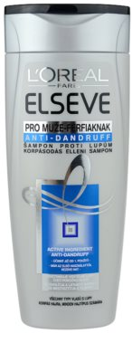 L'Oréal Paris Elseve Anti-Dandruff champô anticaspa para homens