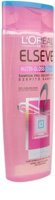 L'Oréal Paris Elseve Nutri-Gloss Crystal champô para dar brilho 1