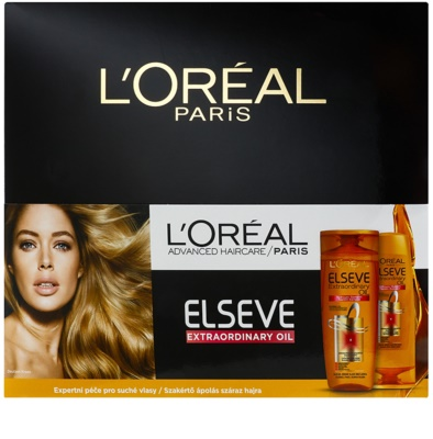 L'Oréal Paris Elseve Extraordinary Oil козметичен пакет  II. 1
