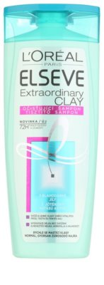 L'Oréal Paris Elseve Extraordinary Clay champô de limpeza para cabelo rapidamente oleoso