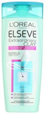 L'Oréal Paris Elseve Extraordinary Clay das Reinigungsshampoo für schnell fettiges Haar