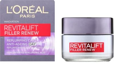 L'Oréal Paris Revitalift Filler Renew крем против бръчки с хиалуронова киселина 1