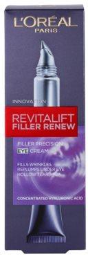 L'Oréal Paris Revitalift Filler Augencreme gegen tiefe Falten 2