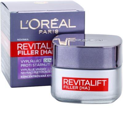 L'Oréal Paris Revitalift Filler wypełniający krem na dzień przeciw starzeniu się 2