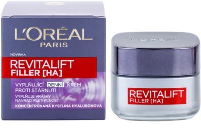 L'Oréal Paris Revitalift Filler wypełniający krem na dzień przeciw starzeniu się 3