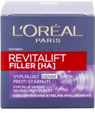 L'Oréal Paris Revitalift Filler wypełniający krem na dzień przeciw starzeniu się 4