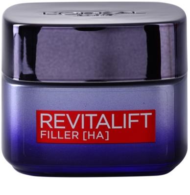 L'Oréal Paris Revitalift Filler krem wypełniający zmarszczki na noc przeciw starzeniu się
