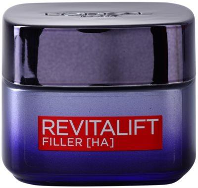 L'Oréal Paris Revitalift Filler nočna krema za polnjenje gub proti staranju