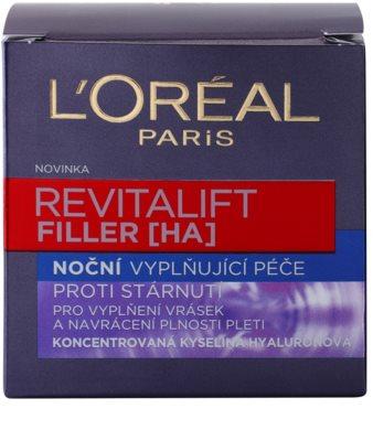L'Oréal Paris Revitalift Filler faltenfüllende Nachtcreme gegen die Alterung 3