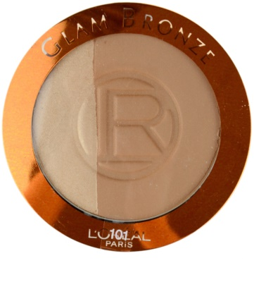 L'Oréal Paris Glam Bronze Duo pó 1