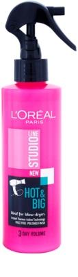 L'Oréal Paris Studio Line Hot & Big hőre fixáló spray dúsító hatás