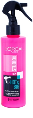 L'Oréal Paris Studio Line Hot & Big spray termo-protector con efecto volumen