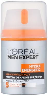 L'Oréal Paris Men Expert Hydra Energetic hydratační krém proti známkám únavy s vitamínem C