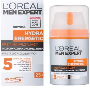 L'Oréal Paris Men Expert Hydra Energetic hydratační krém proti známkám únavy s vitamínem C 1