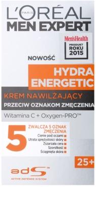 L'Oréal Paris Men Expert Hydra Energetic hydratační krém proti známkám únavy s vitamínem C 2