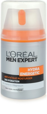L'Oréal Paris Men Expert Hydra Energetic хидратиращ крем  против признаците на умора