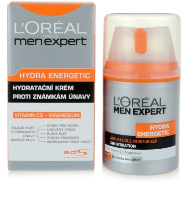L'Oréal Paris Men Expert Hydra Energetic хидратиращ крем  против признаците на умора 3